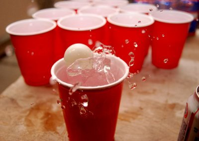beer pong is the ultimate 21st birthday party game